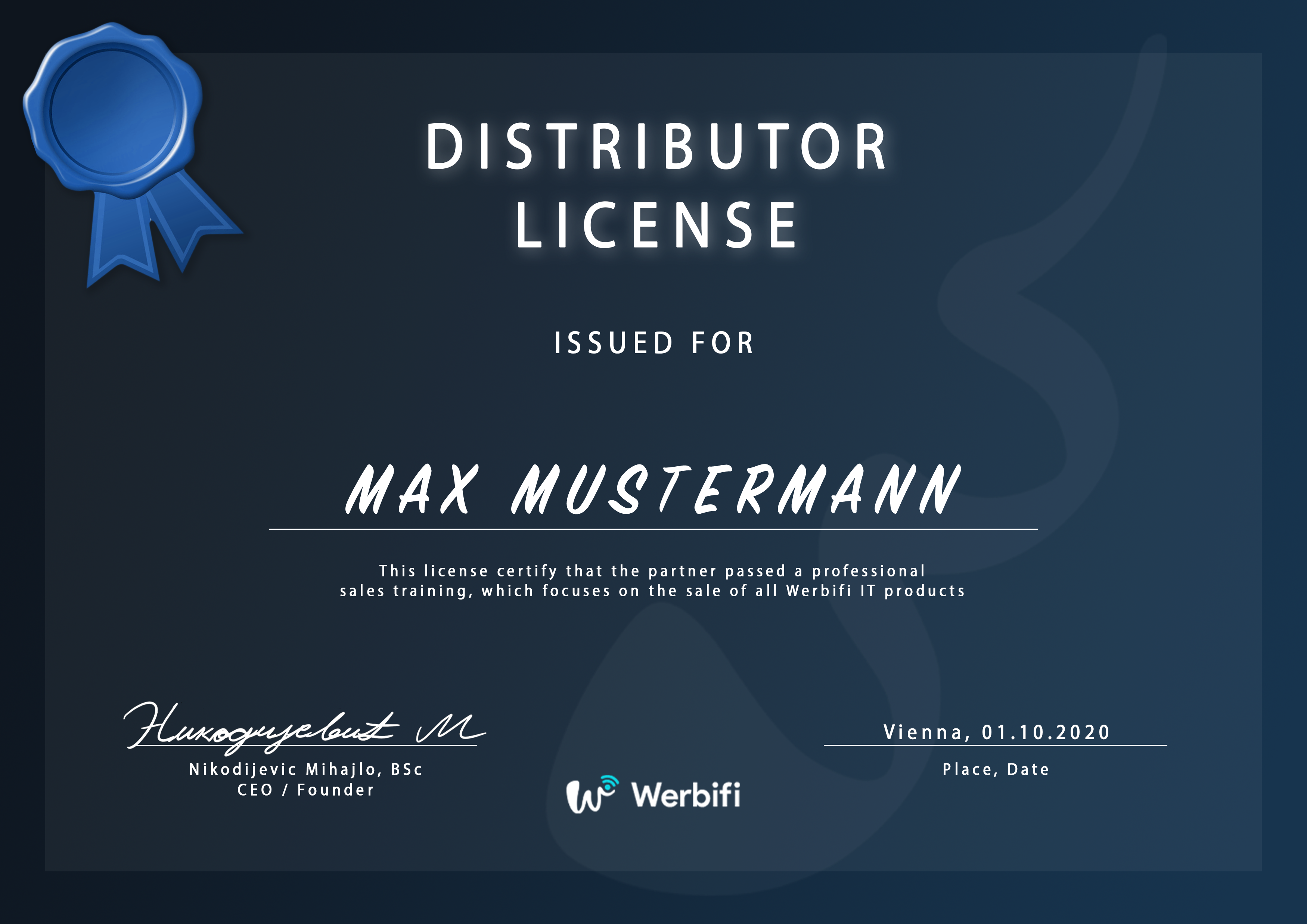 Official Partner License